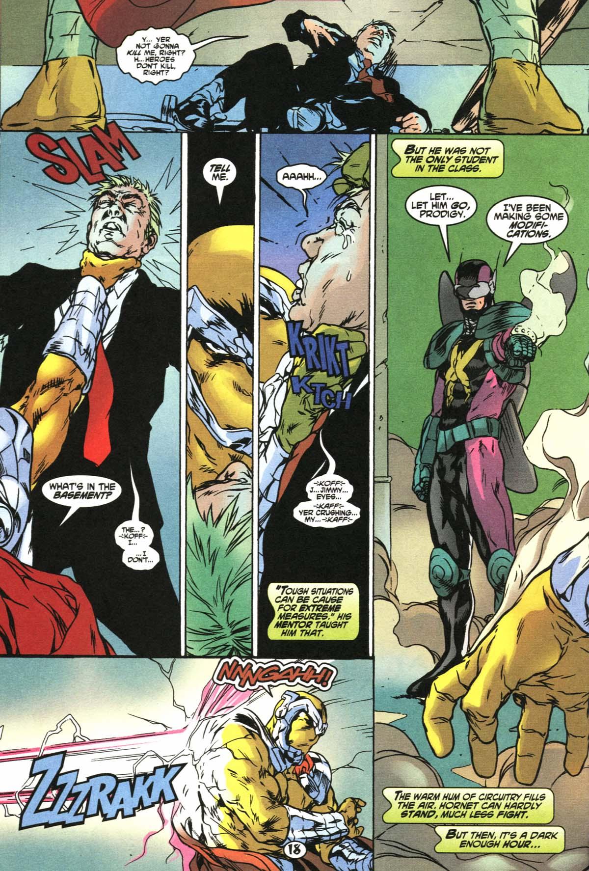 Read online Slingers comic -  Issue #4 - 19