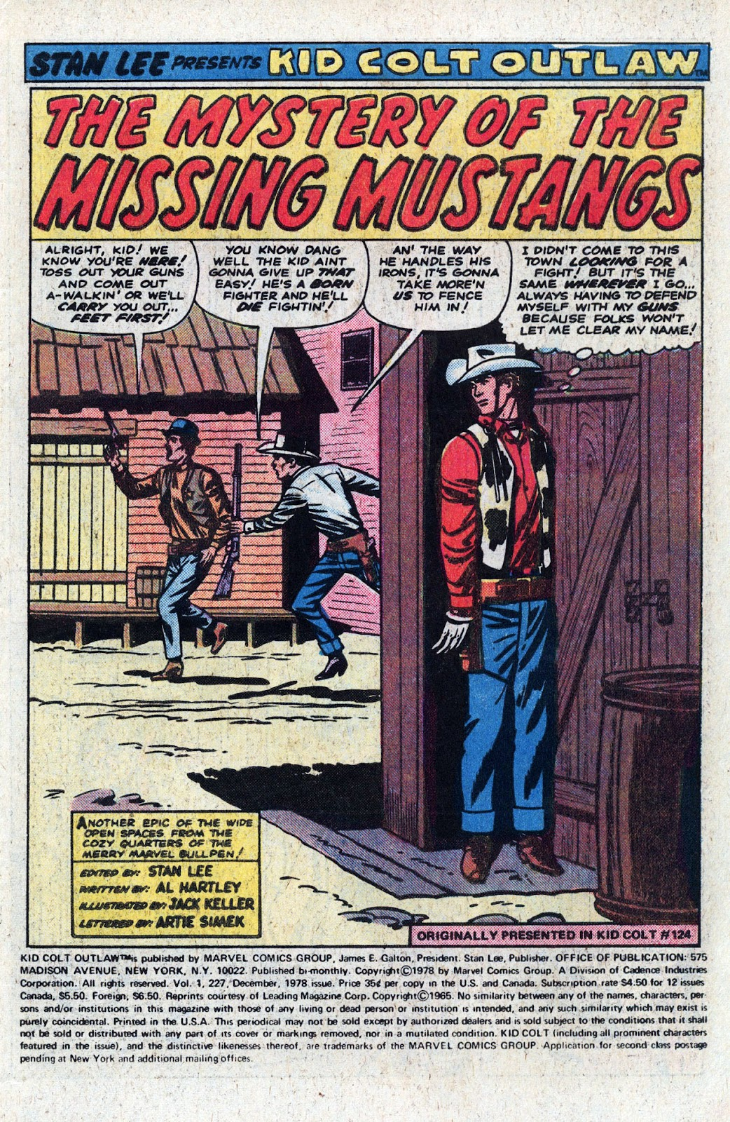 Kid Colt Outlaw issue 227 - Page 3
