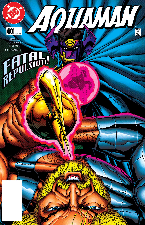 Aquaman (1994) 40 Page 1