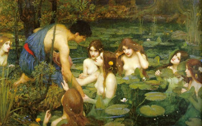 Hylas and the Nymphs, de John William Waterhouse