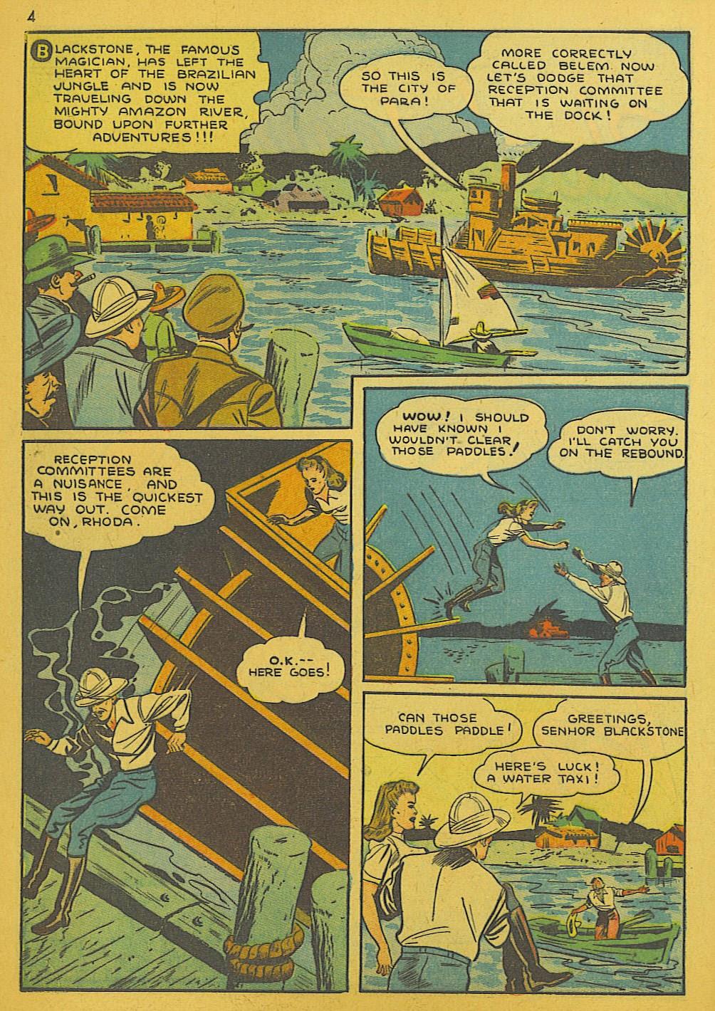 Read online Super-Magician Comics comic -  Issue #10 - 4
