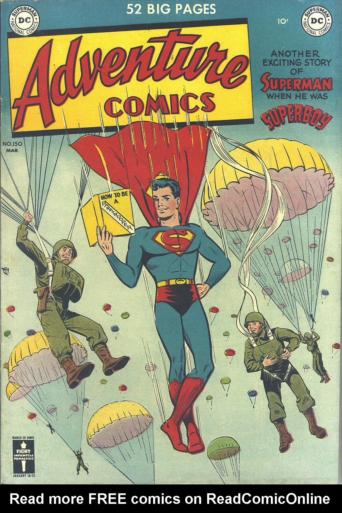Read online Adventure Comics (1938) comic -  Issue #150 - 1