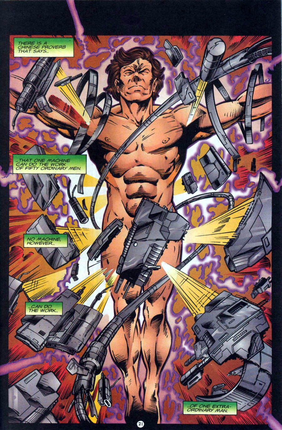 Read online Ex-Mutants comic -  Issue #18 - 21