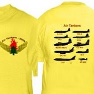 Firefighter Christmas Shirt.Give That Firefighter An Air Tanker Shirt For Christmas
