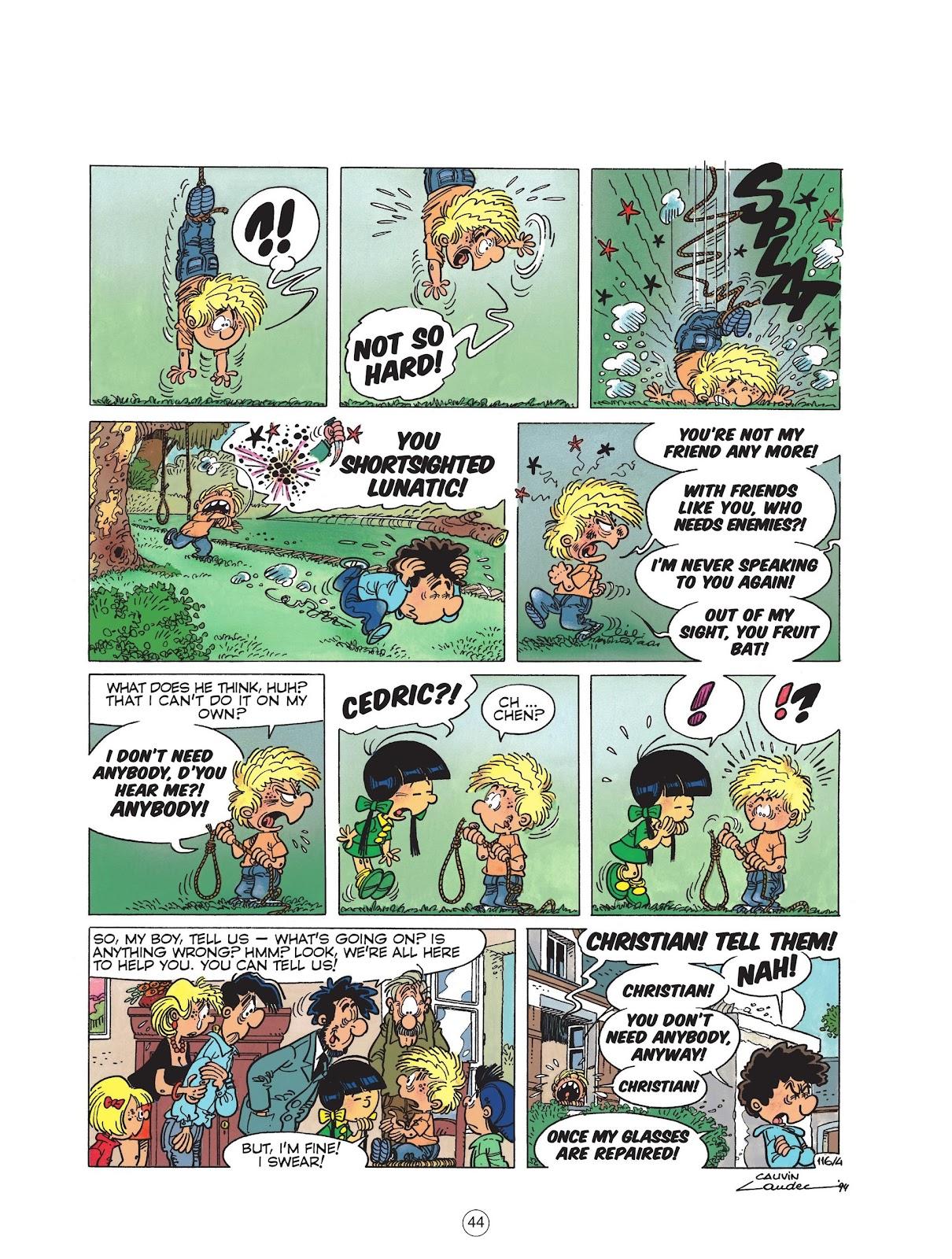 Read online Cedric comic -  Issue #6 - 46