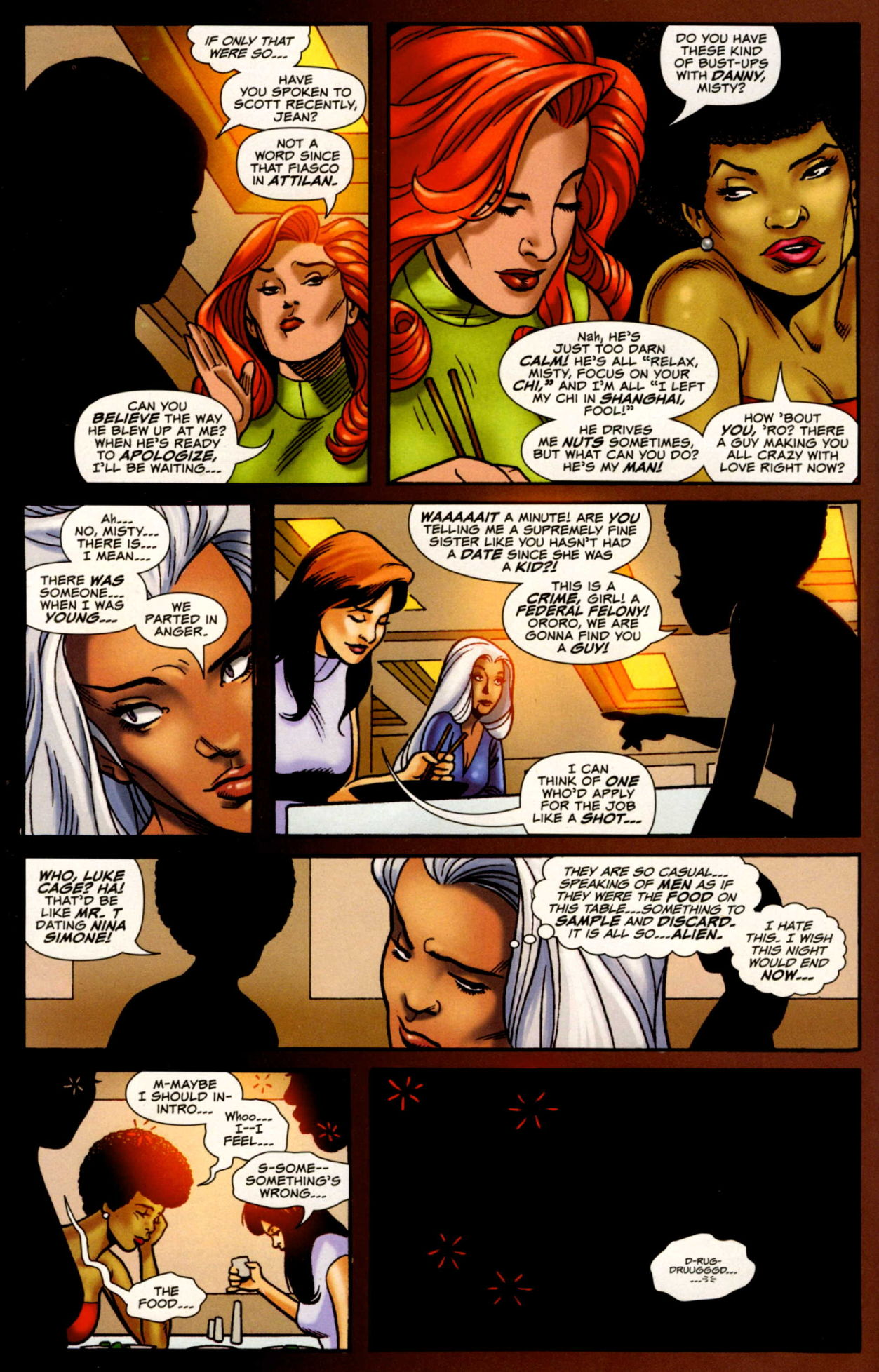 Read online Uncanny X-Men: First Class comic -  Issue #4 - 5