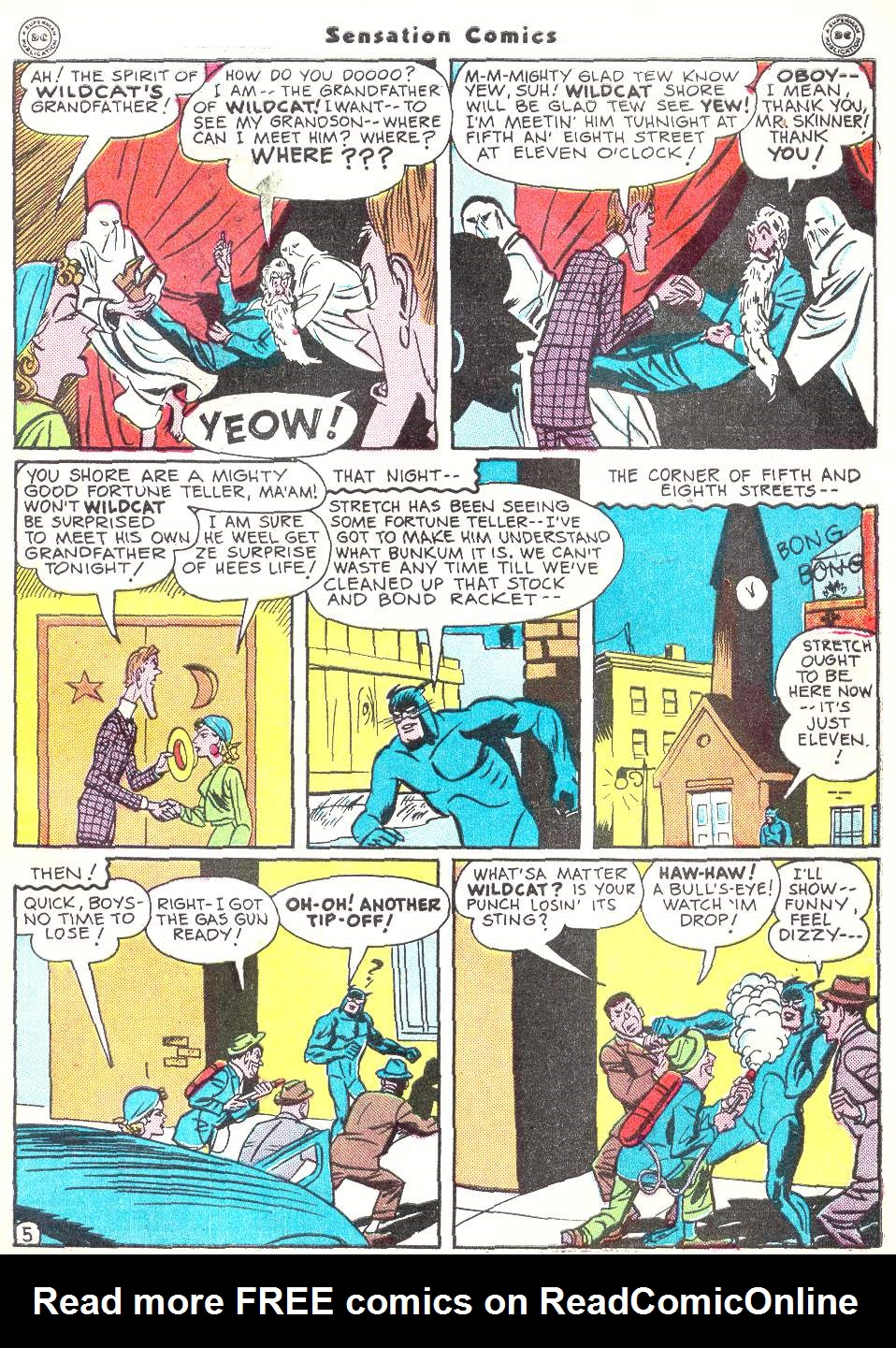 Read online Sensation (Mystery) Comics comic -  Issue #50 - 45