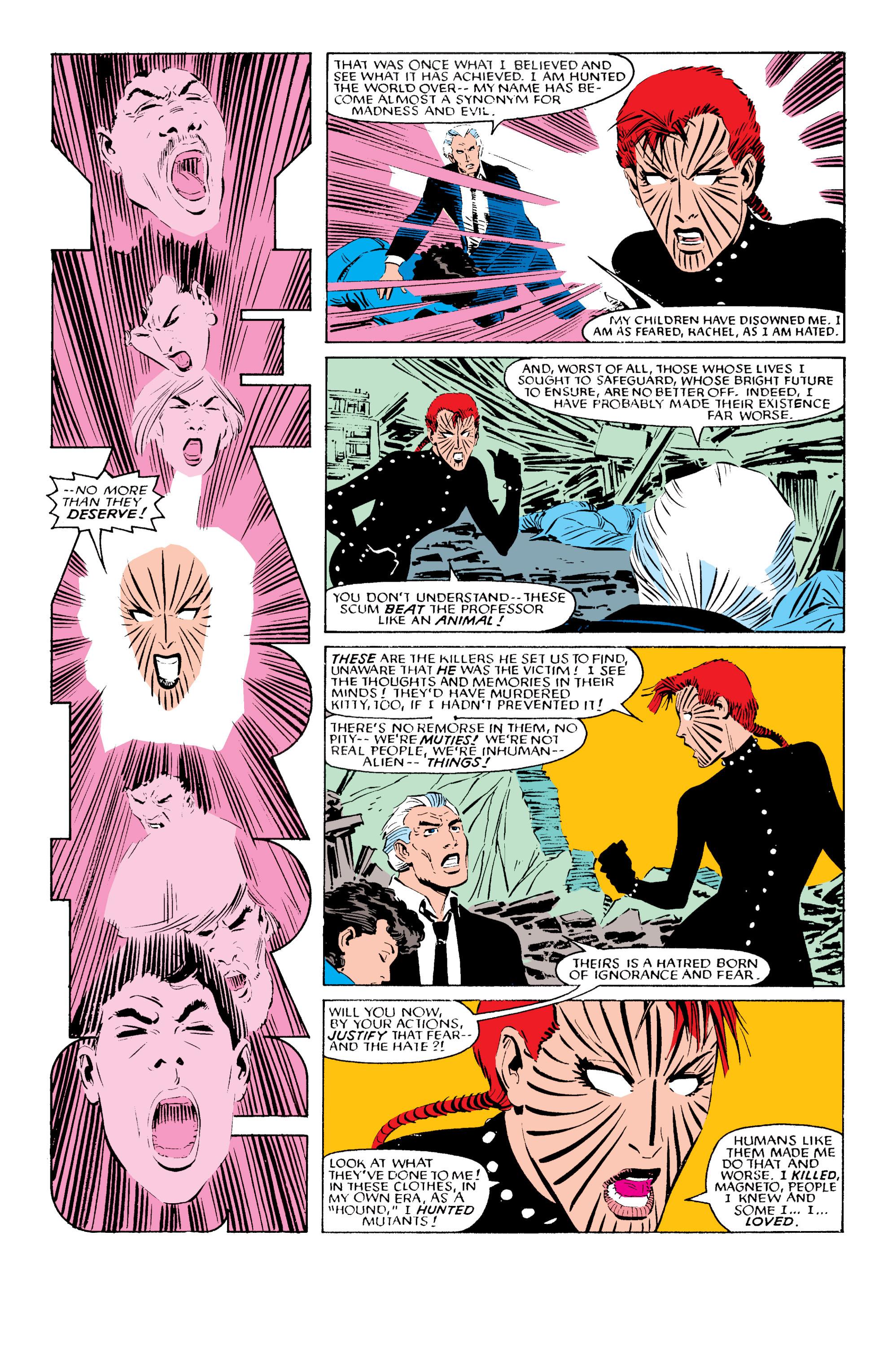 Read online Uncanny X-Men (1963) comic -  Issue #196 - 21