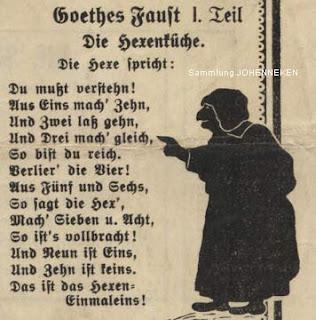 Faust Hexeneinmaleins