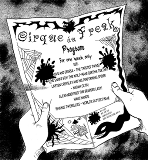 Cirque du freak books 1-12