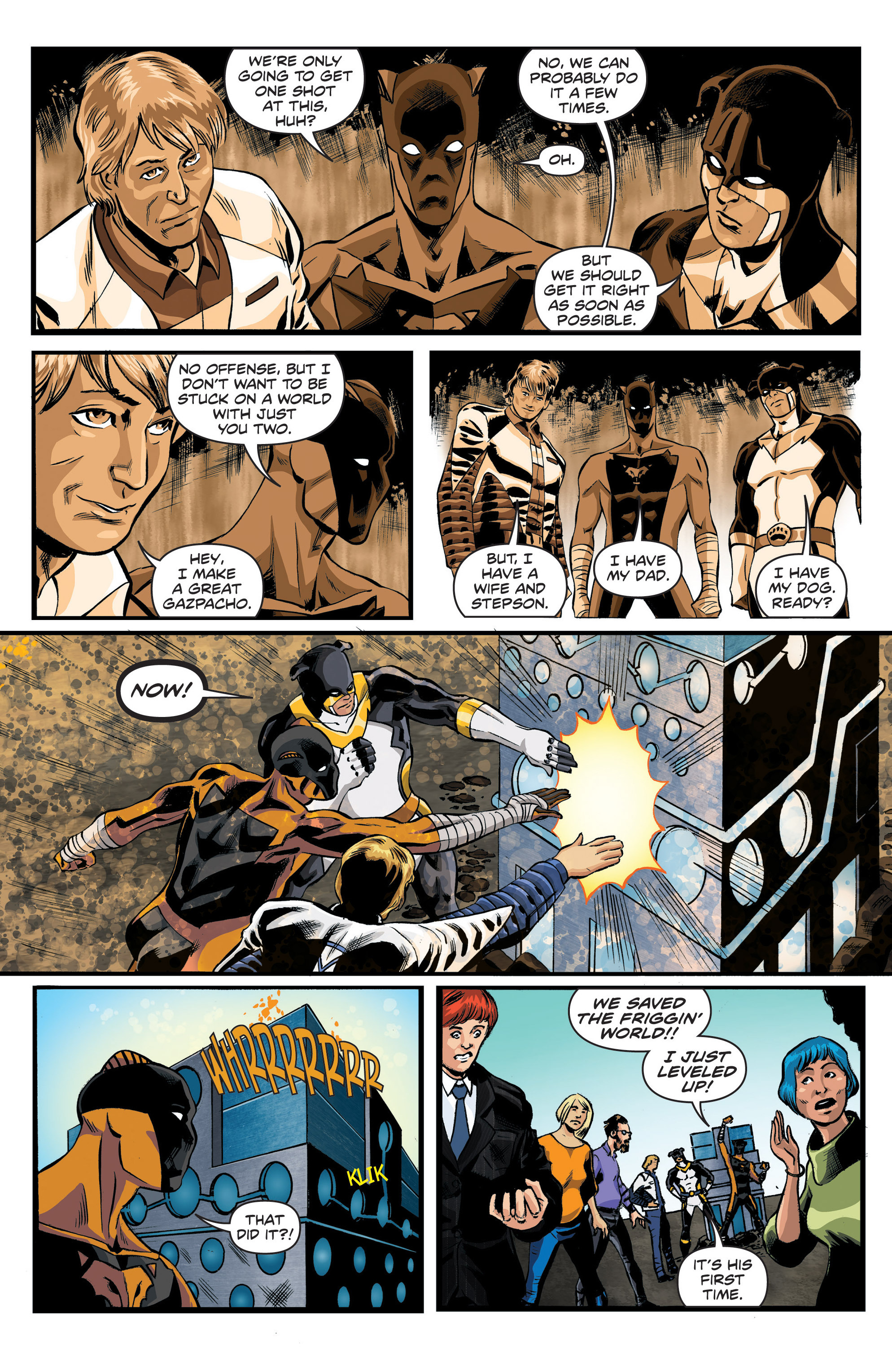 Read online Actionverse comic -  Issue #6 - 16