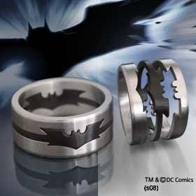 Toxiferous Designs Batman Dark Knight Puzzle Ring And