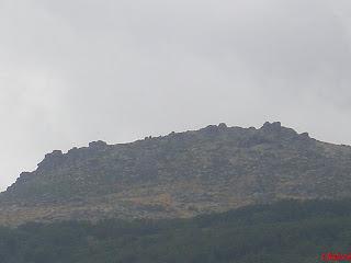 Cima del pico la campana en Tornavacas