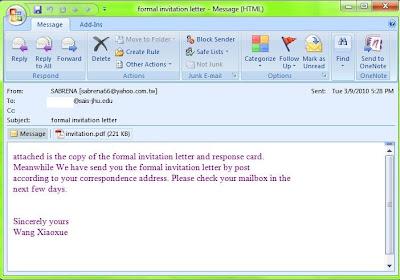 contagio: Mar 9  CVE-2010-0188 PDF+ exploit demo  Invitation
