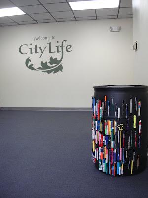 Santa Rosa Recycling Center >> Pen Recycling Barrel Now At City Life In Santa Rosa Pen