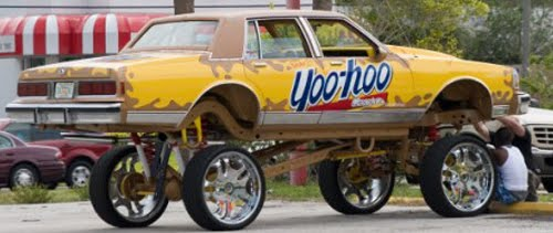 You Hoo Donk Art Car