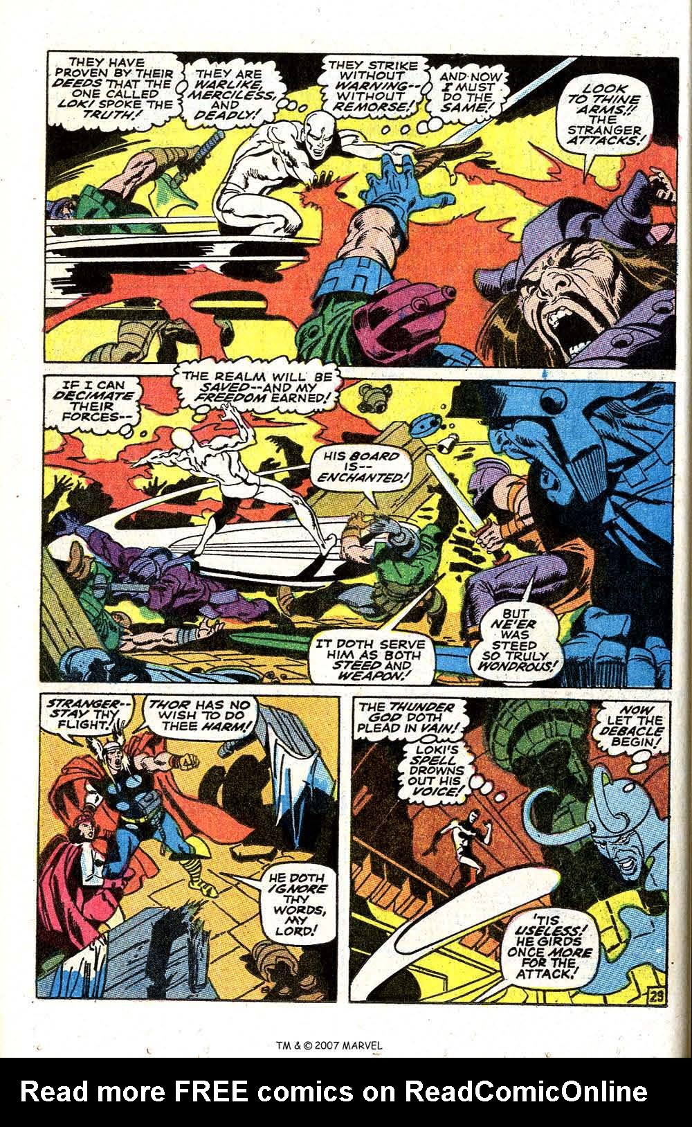 Read online Silver Surfer (1968) comic -  Issue #4 - 36