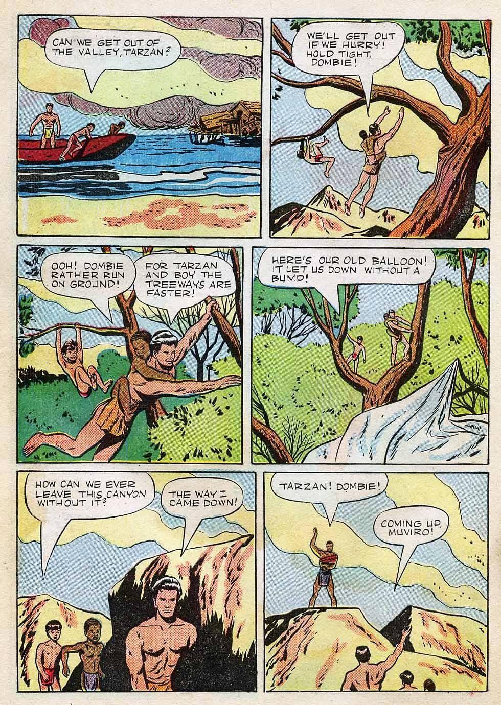 Tarzan (1948) issue 7 - Page 30