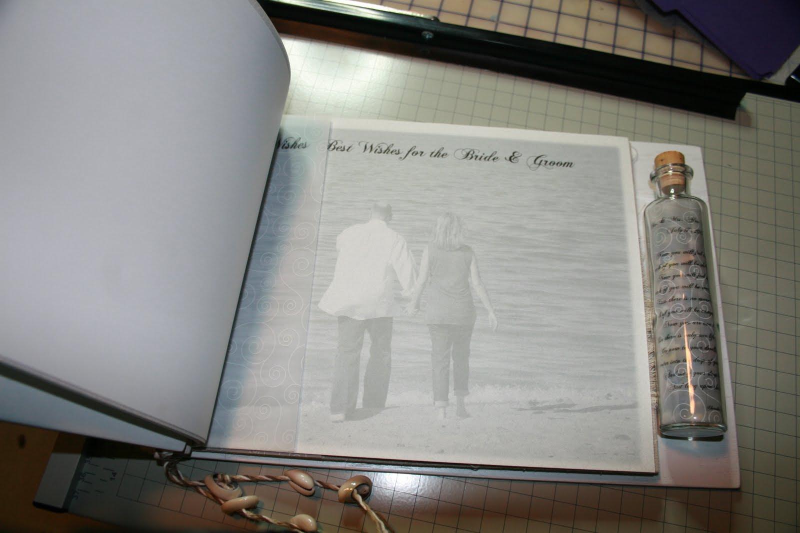 Out On A Whim: Beach Wedding Keepsake Guest Book