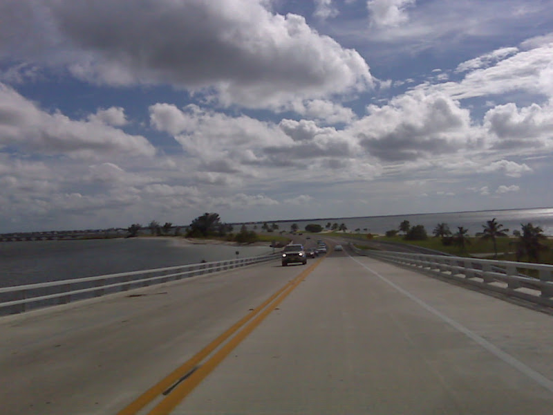 Coming over the Sanibel Causeway