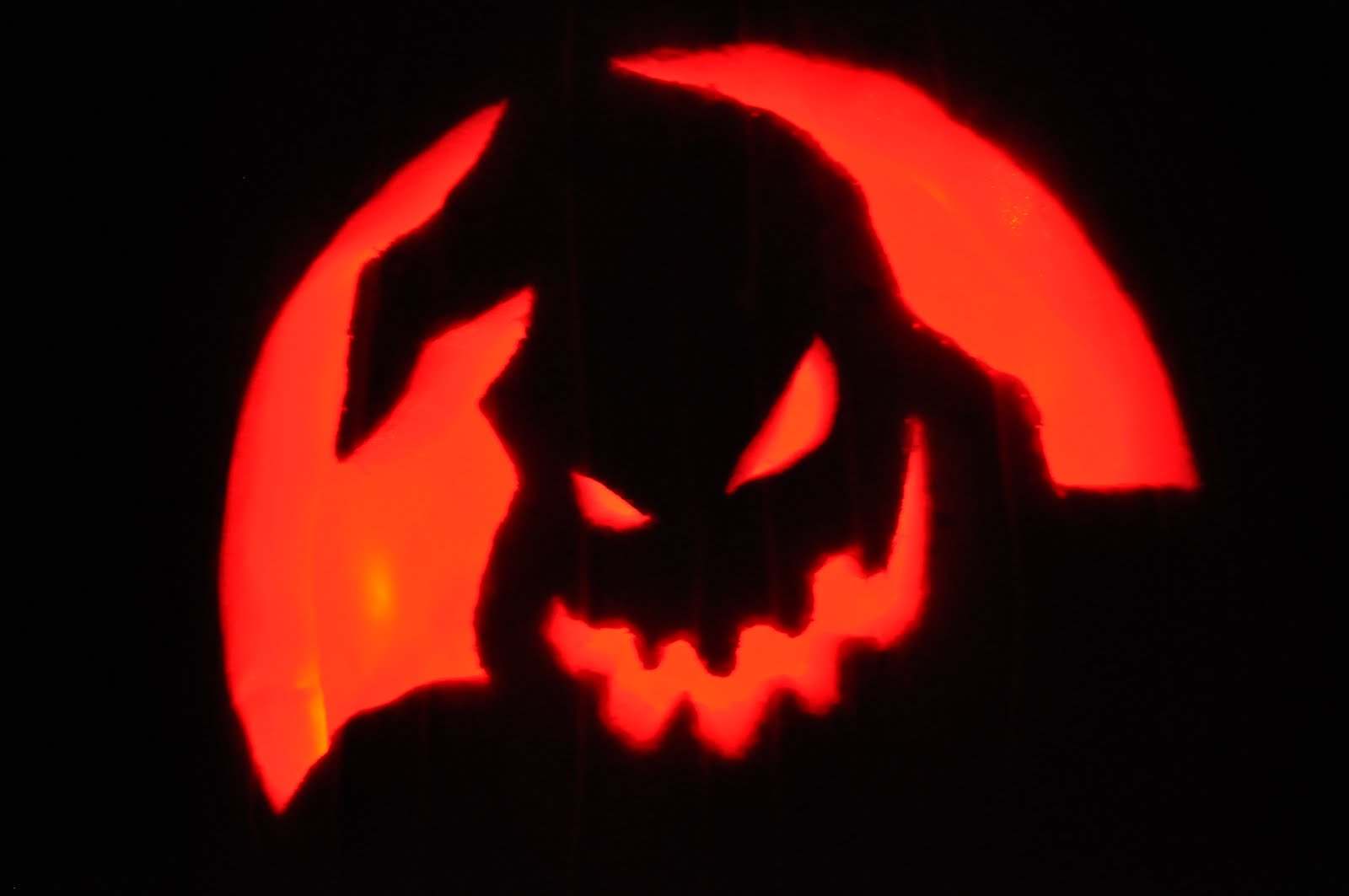 Nightmare Before Christmas Zero Pumpkin Carving