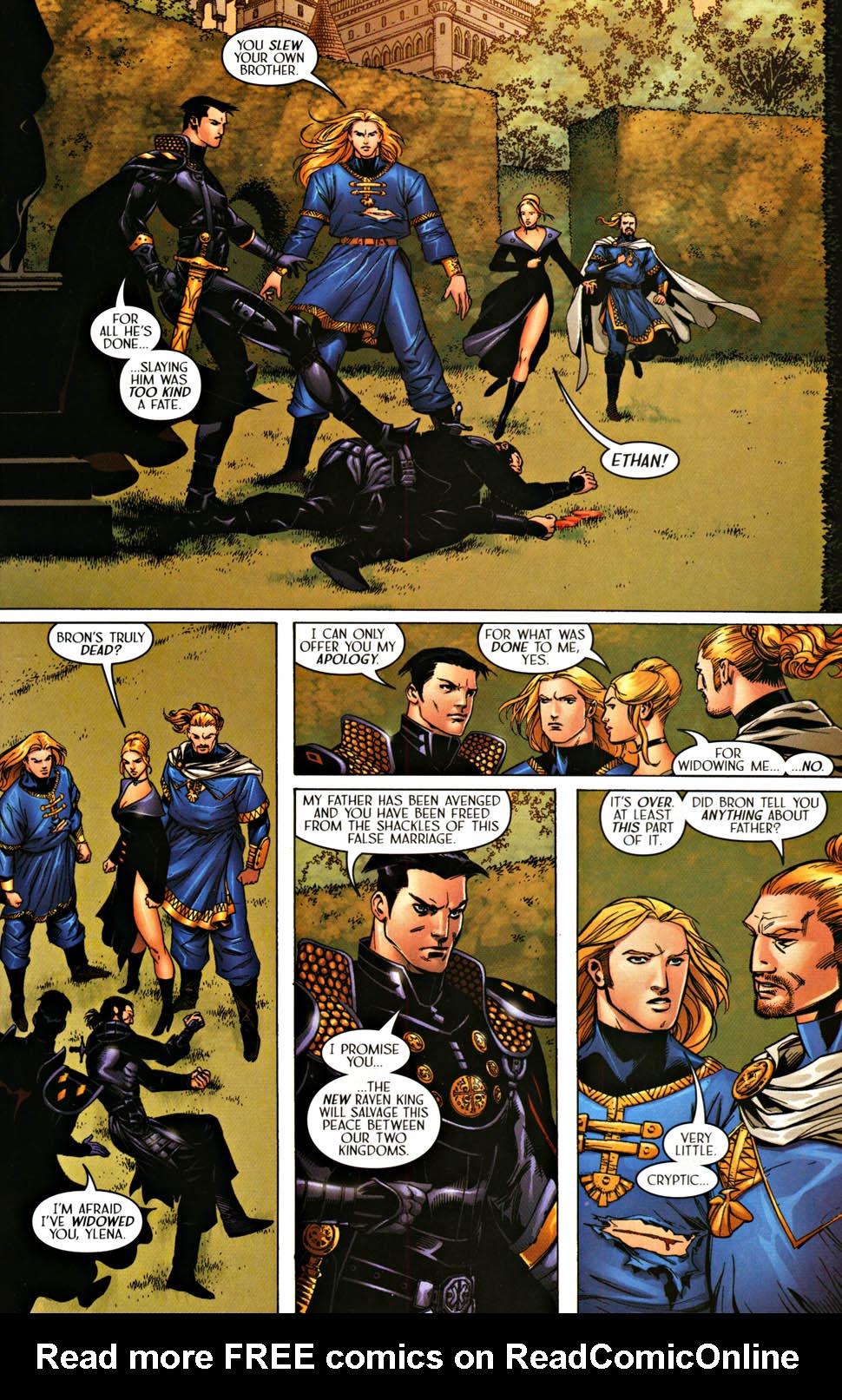 Read online Scion comic -  Issue #37 - 23