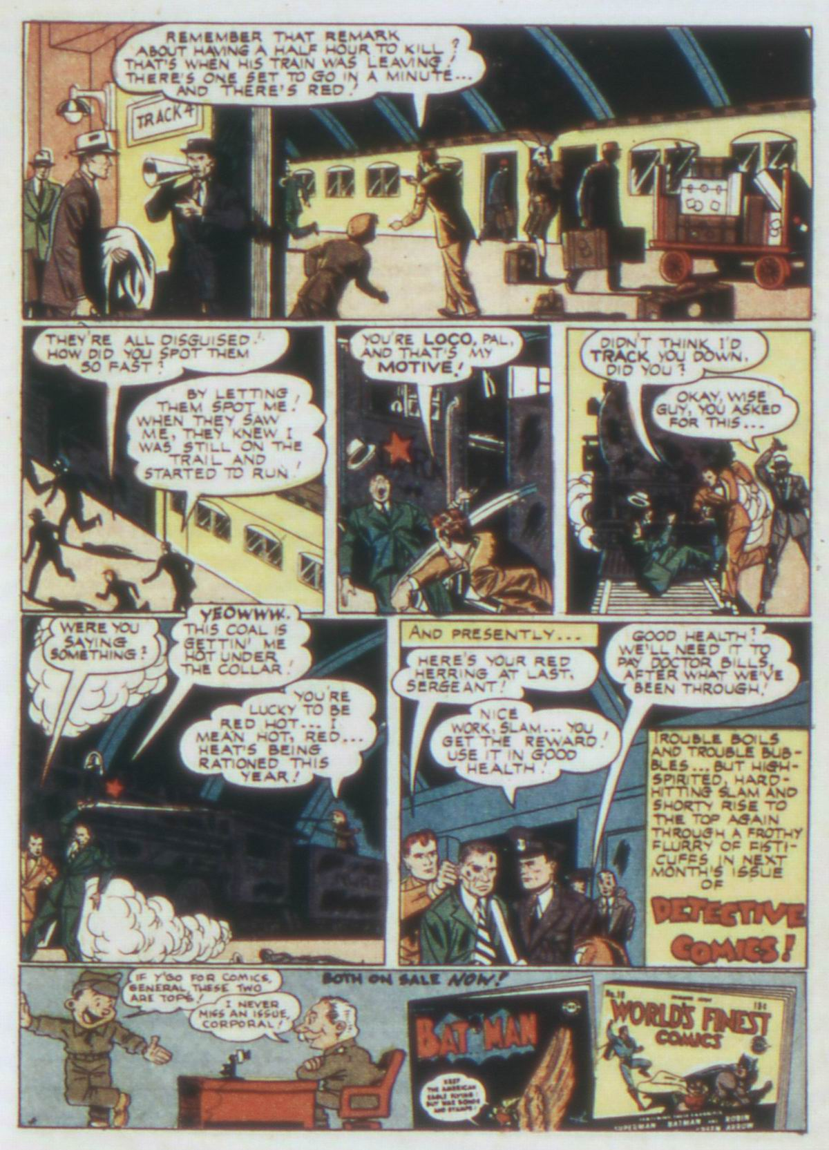 Read online Detective Comics (1937) comic -  Issue #77 - 23