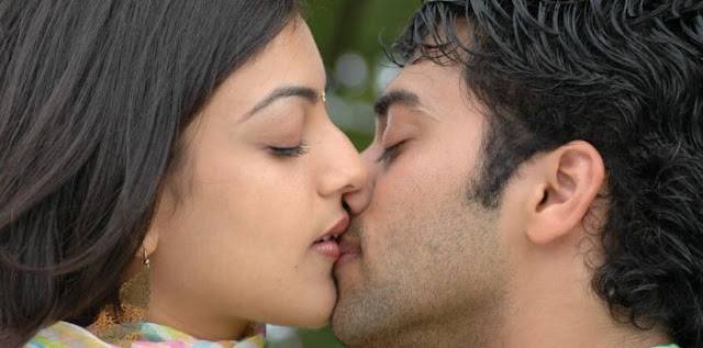 Image result for kajal navel lip kissing