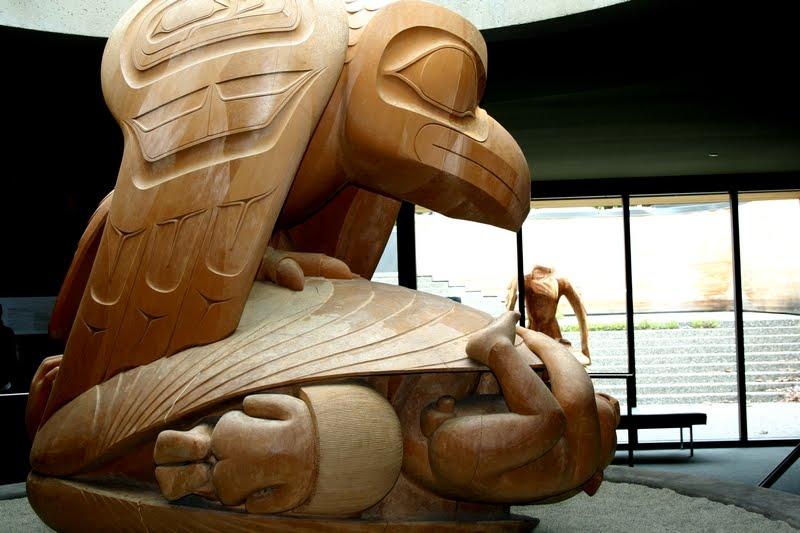 musée de l'anthropologie de Vancouver sculpture corbeau bill reid