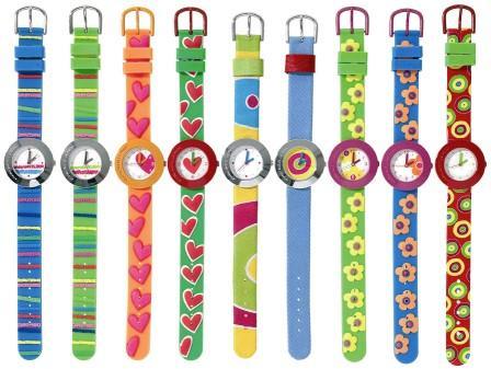 624f4baec3b Lindos relógios coloridos. Um dos seus desfiles de conceite surreal. Agatha  Ruiz de La Prada