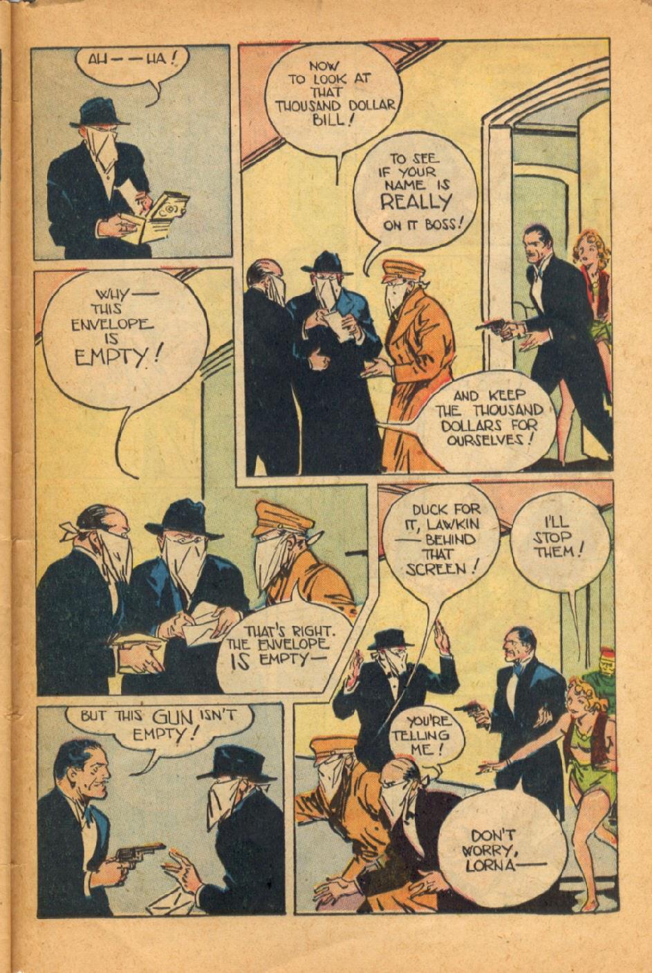 Read online Super-Magician Comics comic -  Issue #52 - 44
