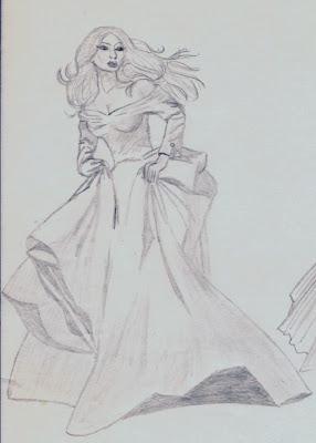 Sketch Art by Mary: Damsels in Distress