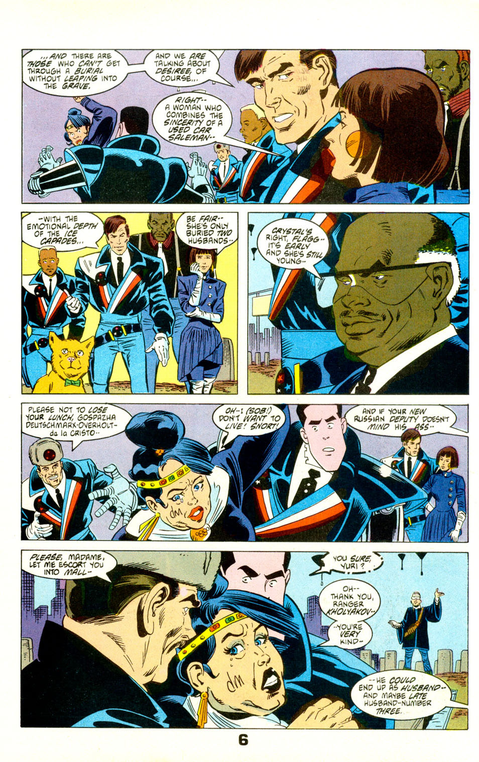 Read online American Flagg! comic -  Issue #28 - 8