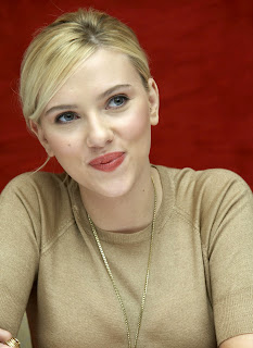 Scarlett Johansson is incredibly beautiful