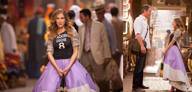 Do It Yourself Carrie Bradshaw Shirt From Sex And The City 2 Oh Anne