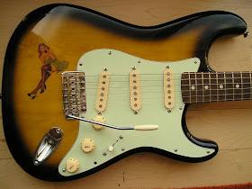 Stratocaster Guitar Culture | Stratoblogster: Vintage Pin-up