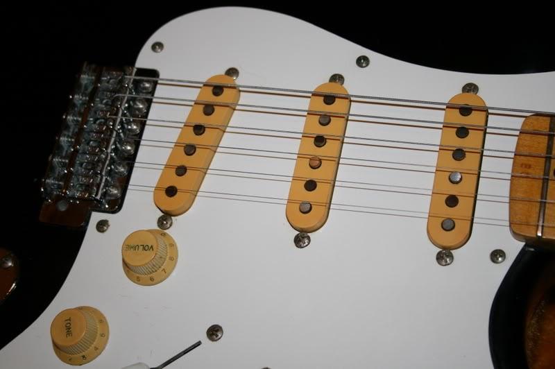 1978 Tokai Springy Sound Black Stratocaster Guitar
