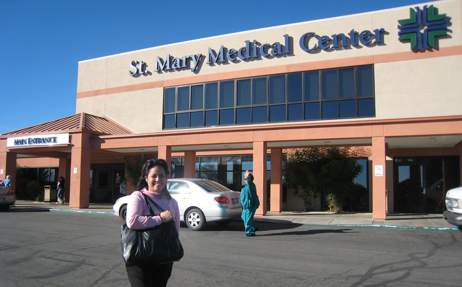 Hello!: The St. Mary Medical Center at Victorville, California