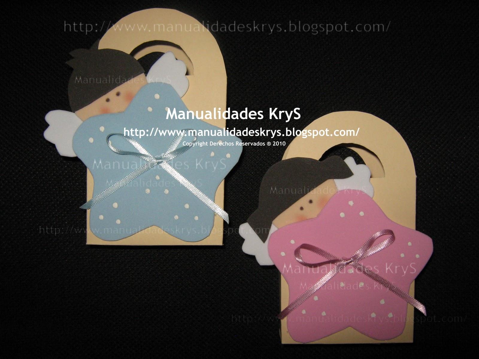 Manualidades krys baby shower y bautizo for Recuerdos para bautizo nina