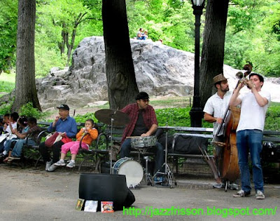 New York Central Park Jazz Trio
