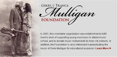 Gerry and Franca Mulligan Fondation Jazz