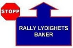 RALLY LYDIGHETS BANER