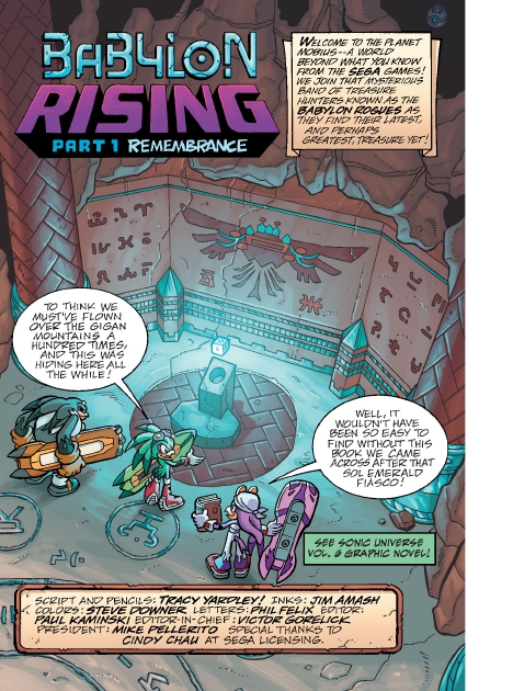 Read online Sonic Comics Spectacular: Speed of Sound comic -  Issue # Full - 144