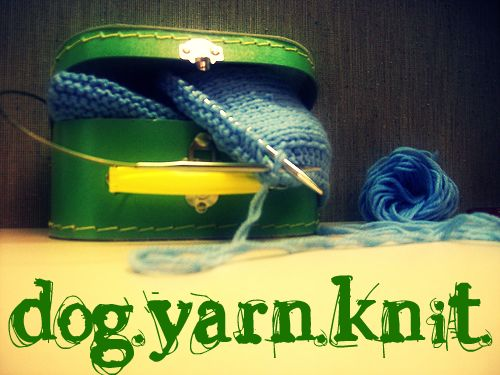 Dog.Yarn.Knit.