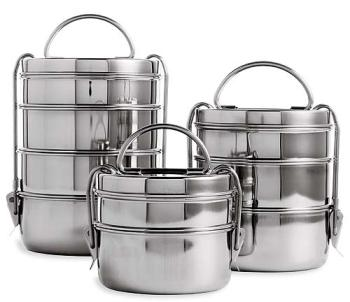 Indian Metal Food Containers