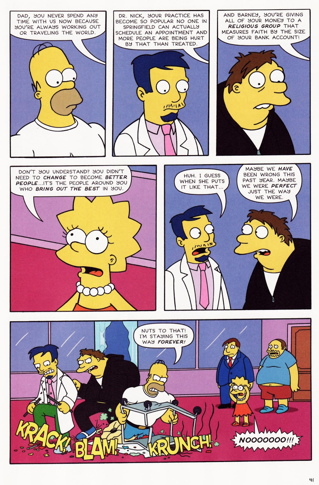 Read online The Simpsons Winter Wingding comic -  Issue #2 - 42