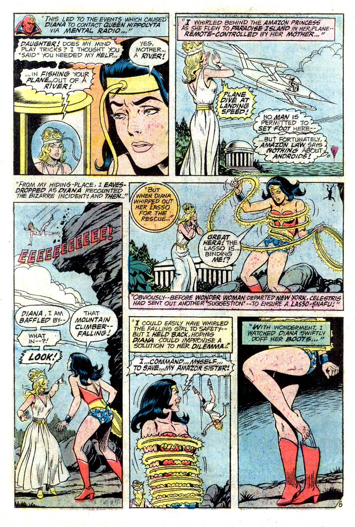 Read online Wonder Woman (1942) comic -  Issue #218 - 8
