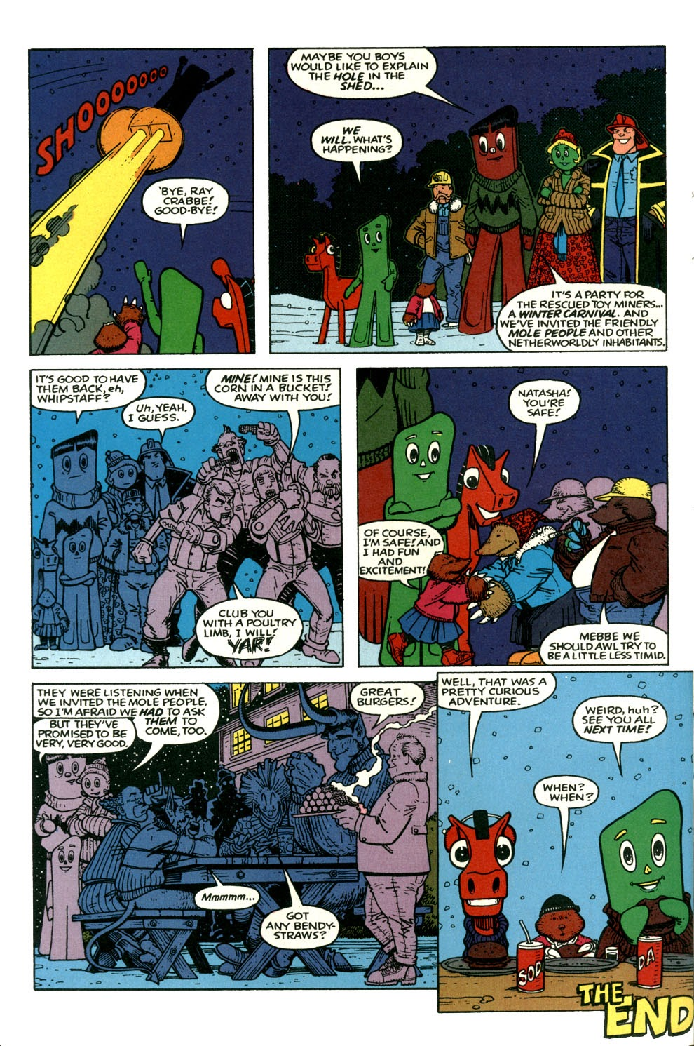Gumby's Winter Fun Special issue Full - Page 39
