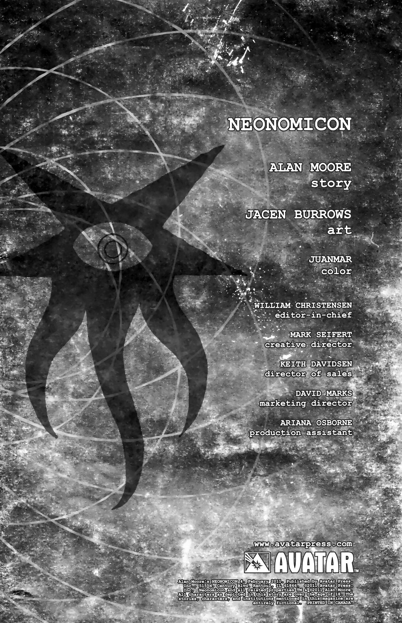 Read online Alan Moore's Neonomicon comic -  Issue #4 - 4