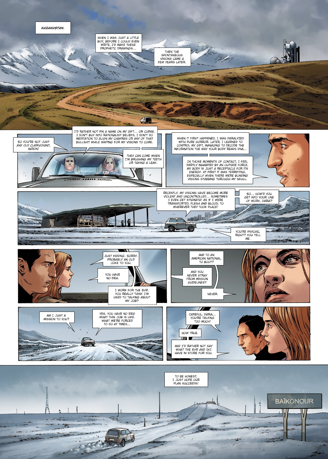 Read online Olympus Mons Vol. 1: Anomaly One comic -  Issue #4 - 35